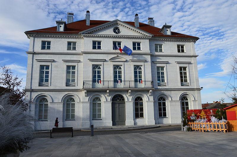 Photo du Monument Historique Hôtel de ville situé à Champagnole