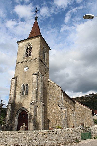 Photo du Monument Historique Eglise de Fétigny situé à Fétigny