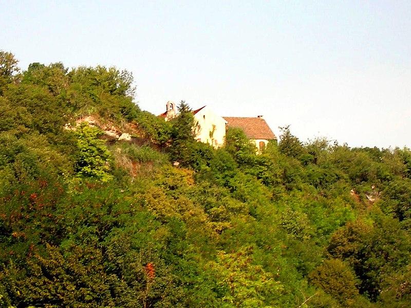 Photo du Monument Historique Ermitage Notre-Dame de Lorette situé à Port-Lesney