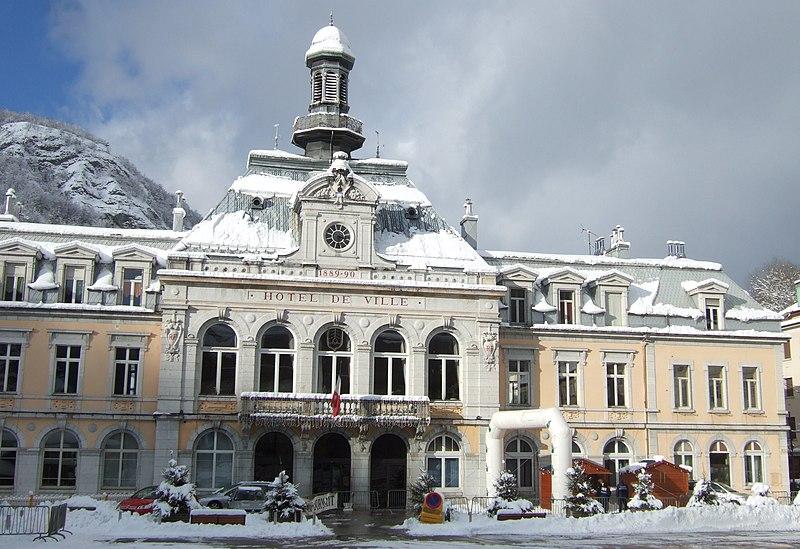 Photo du Monument Historique Groupe scolaire - Hôtel de ville - Justice de paix situé à Morez