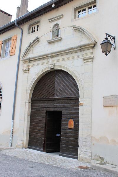 Photo du Monument Historique Monastère des Clarisses situé à Poligny
