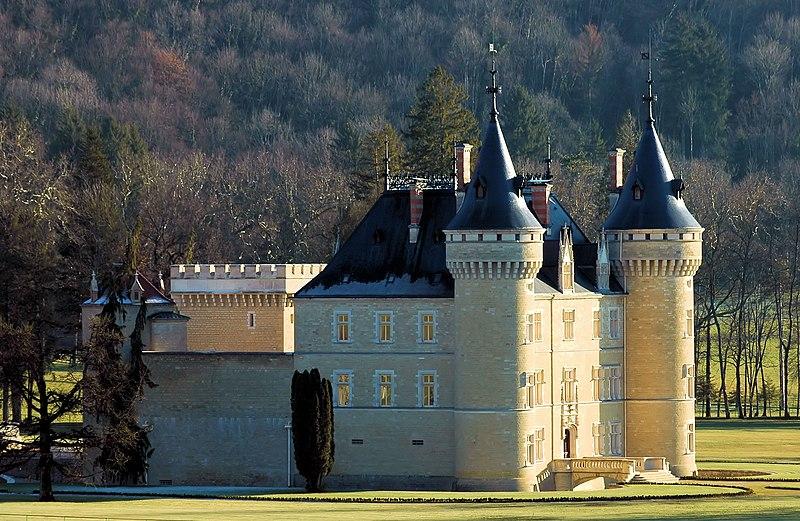 Photo du Monument Historique Château situé à Cornod