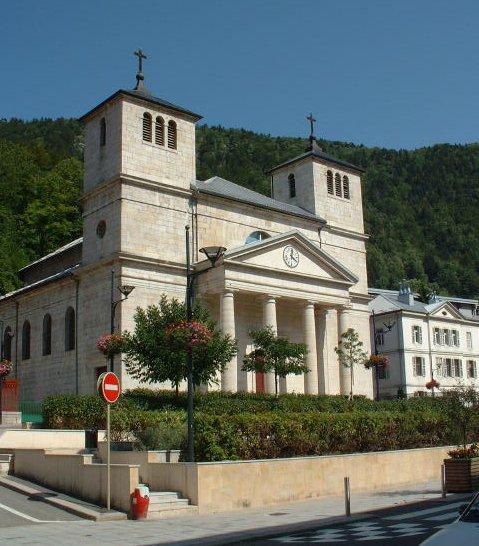 Photo du Monument Historique Eglise paroissiale situé à Morez