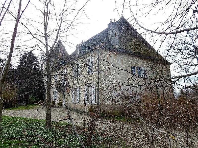 Photo du Monument Historique Demeure dite Château de Falletans situé à Falletans