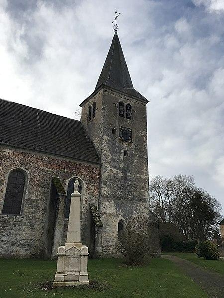 Photo du Monument Historique Eglise Saint-Maurice situé à Chaussin