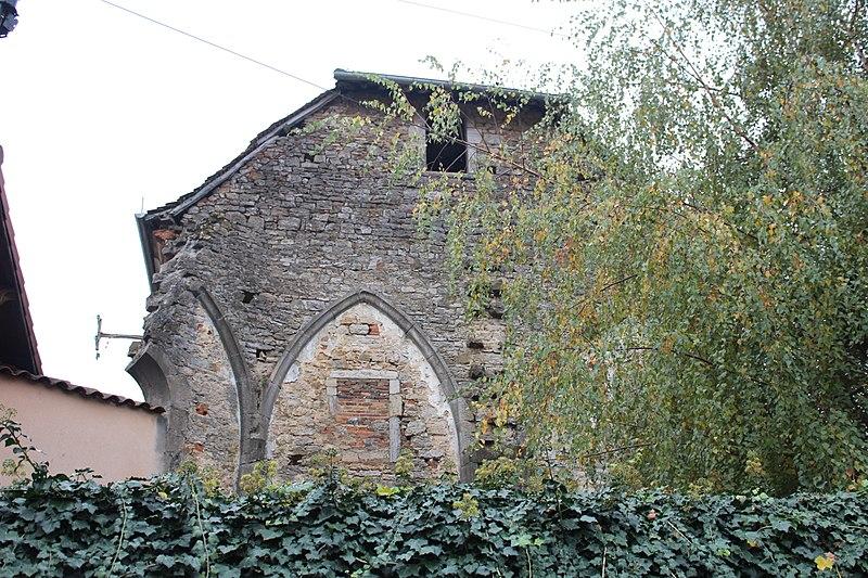 Photo du Monument Historique Monastère des Annonciades situé à Saint-Amour