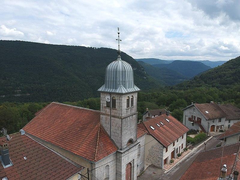 Photo du Monument Historique Eglise de Valfin situé à Saint-Claude