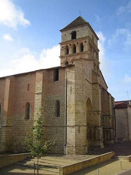 Photo du Monument Historique Eglise Sainte-Quitterie du Mas d'Aire situé à Aire-sur-l'Adour