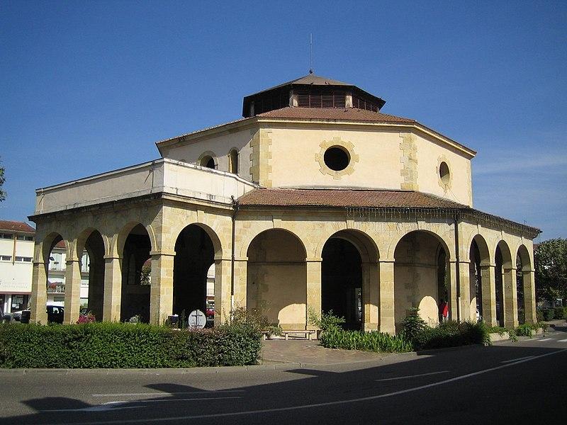 Photo du Monument Historique Anciennes halles aux grains situé à Aire-sur-l'Adour