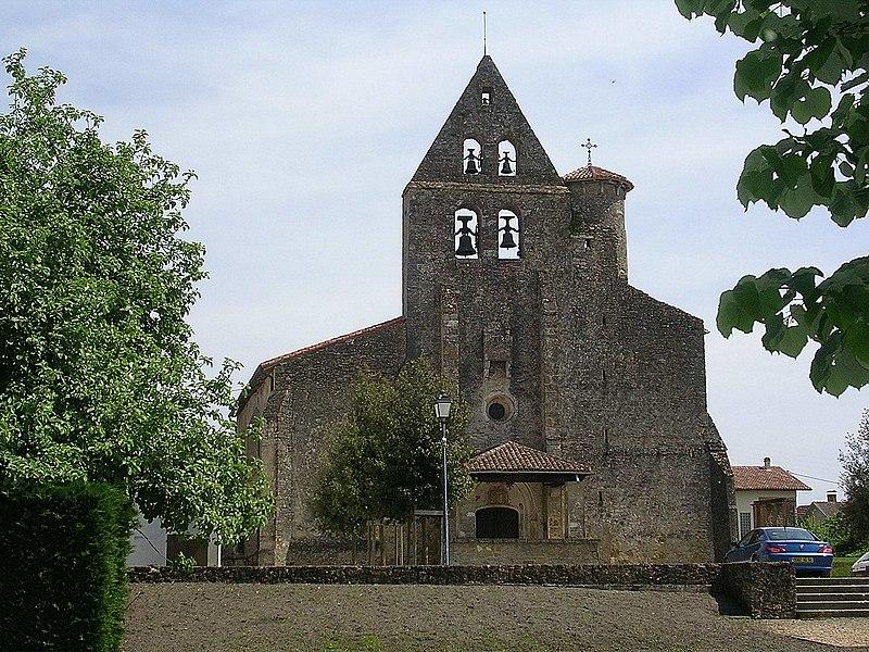Photo du Monument Historique Eglise Saint-Amand situé à Bascons