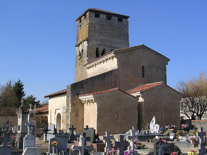 Photo du Monument Historique Eglise Sainte-Marie situé à Bostens