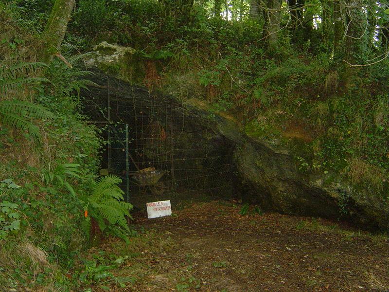 Photo du Monument Historique Grottes préhistoriques du Pouy situé à Brassempouy