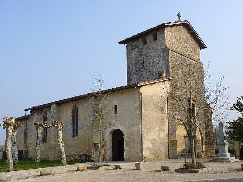 Photo du Monument Historique Eglise Saint-Martin situé à Caupenne