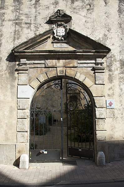 Photo du Monument Historique Hôtel Saint-Martin-d'Agès situé à Dax