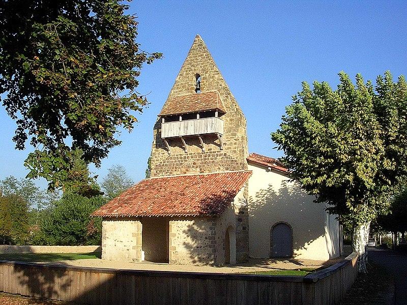 Photo du Monument Historique Eglise Notre-Dame situé à Garein
