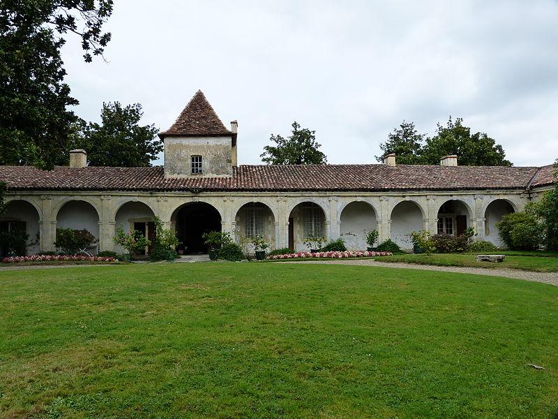 Photo du Monument Historique Château de Sourdis situé à Gaujacq