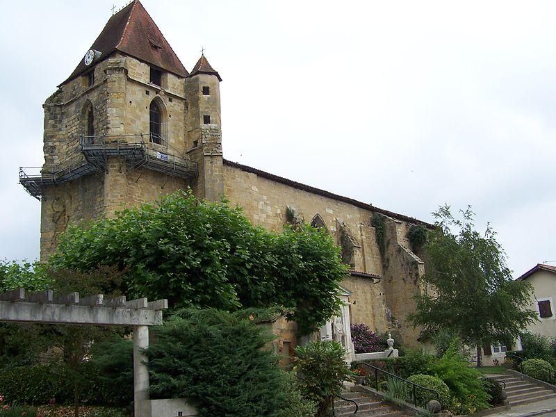 Photo du Monument Historique Eglise Saint-Jean-Baptiste situé à Geaune