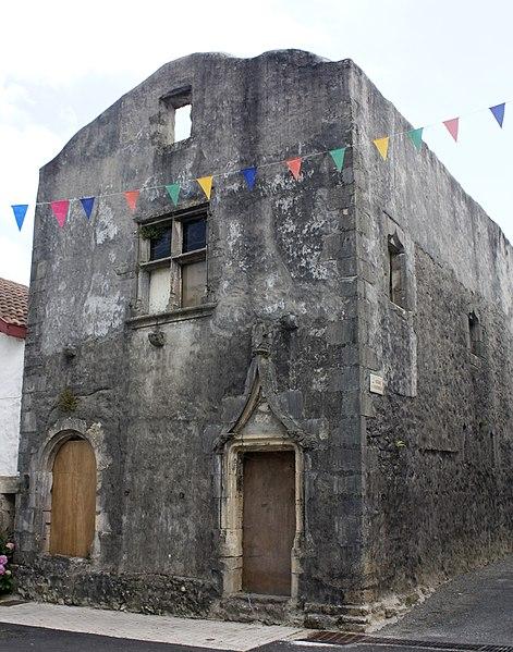 Photo du Monument Historique Maison Renaissance situé à Hastingues