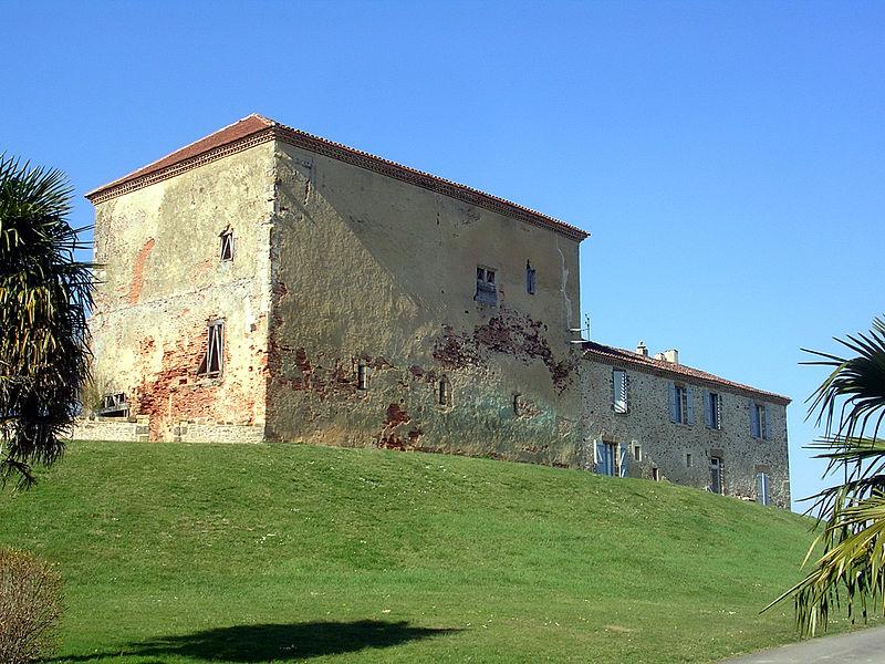 Photo du Monument Historique Château et sa chapelle situé à Hontanx