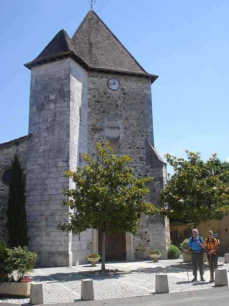 Photo du Monument Historique Eglise Saint-Martin situé à Horsarrieu