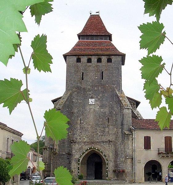 Photo du Monument Historique Eglise Notre-Dame situé à Labastide-d'Armagnac