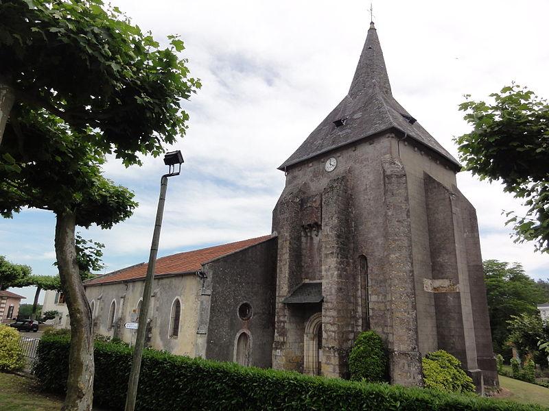 Photo du Monument Historique Eglise Saint-Hilaire situé à Lesperon