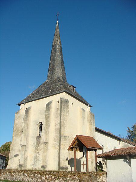 Photo du Monument Historique Eglise Saint-Martin situé à Lévignacq