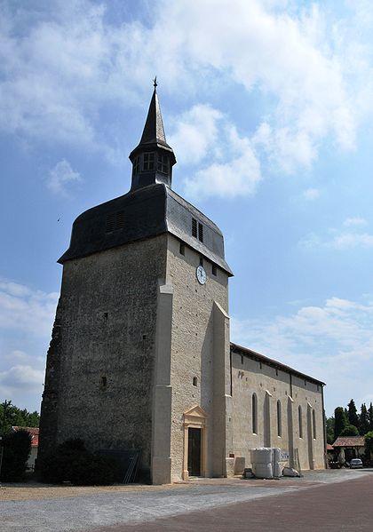 Photo du Monument Historique Eglise Notre-Dame situé à Magescq