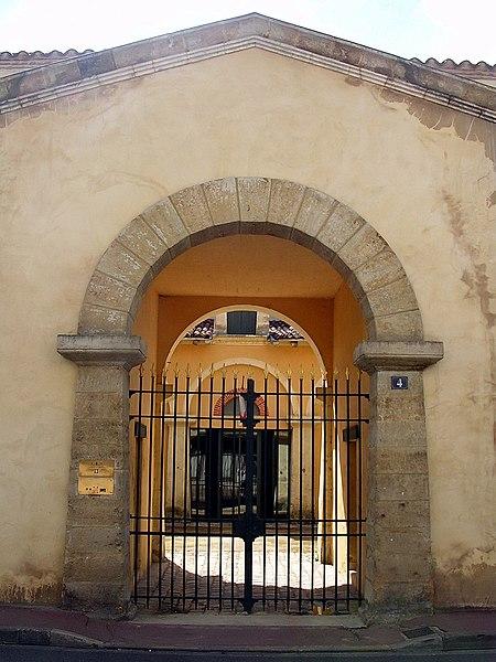Photo du Monument Historique Gendarmerie situé à Mont-de-Marsan