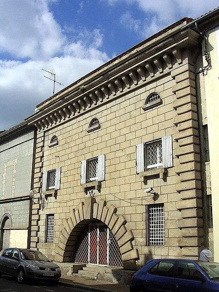 Photo du Monument Historique Ancienne prison situé à Mont-de-Marsan