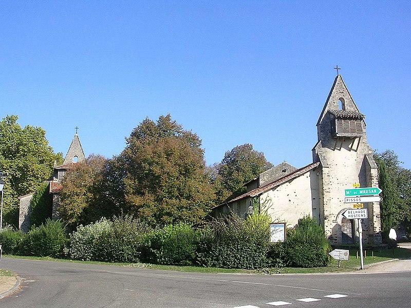 Photo du Monument Historique Ancienne église Notre-Dame situé à Moustey