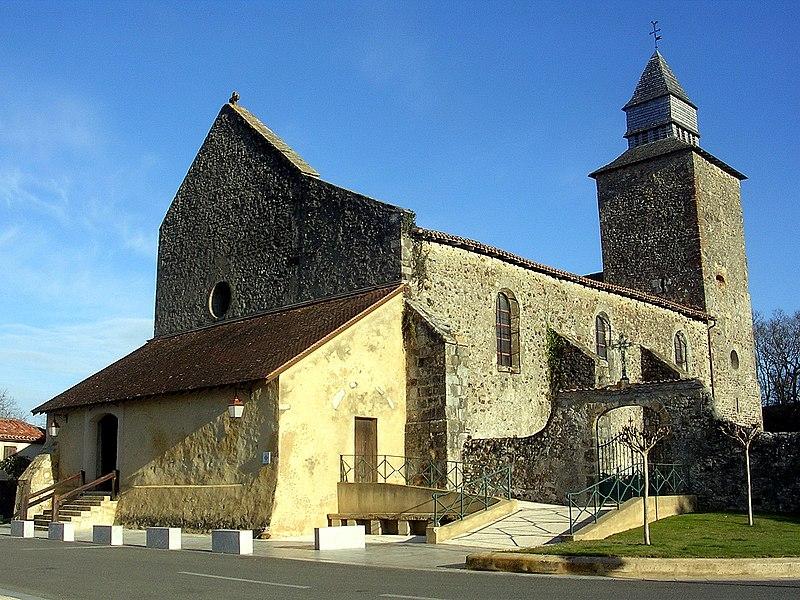 Photo du Monument Historique Eglise Saint-Pierre situé à Nerbis