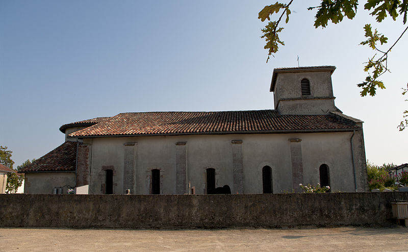 Photo du Monument Historique Eglise Saint-Martin situé à Orx