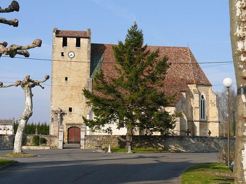 Photo du Monument Historique Eglise Sainte-Madeleine situé à Port-de-Lanne