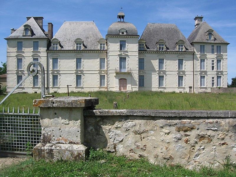Photo du Monument Historique Château situé à Poyanne