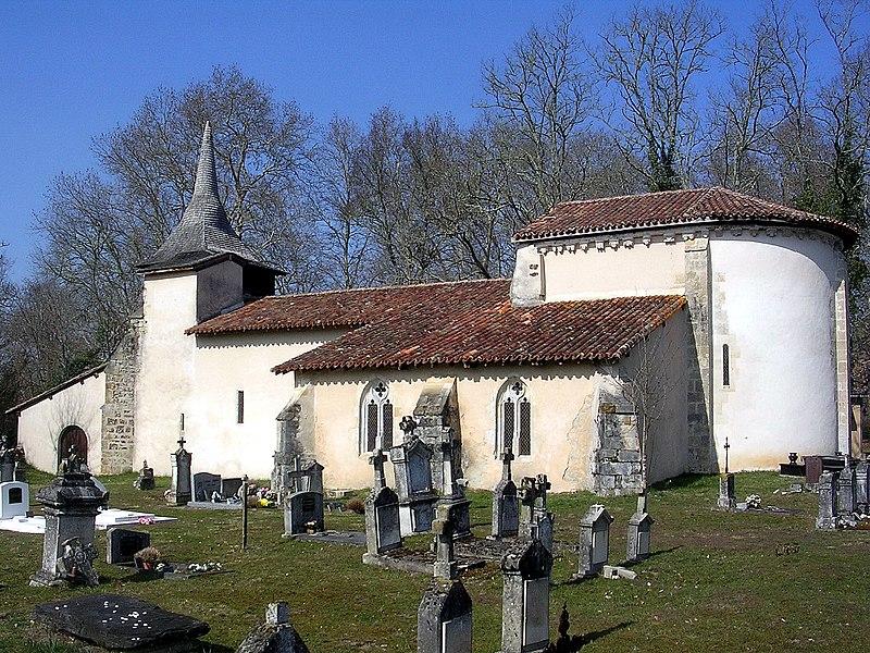 Photo du Monument Historique Eglise Saint-Jean-Baptiste situé à Pissos