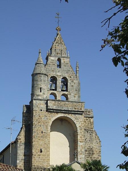 Photo du Monument Historique Eglise Saint-Michel situé à Sabres