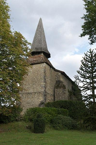 Photo du Monument Historique Eglise d'Argelouse situé à Saint-Justin
