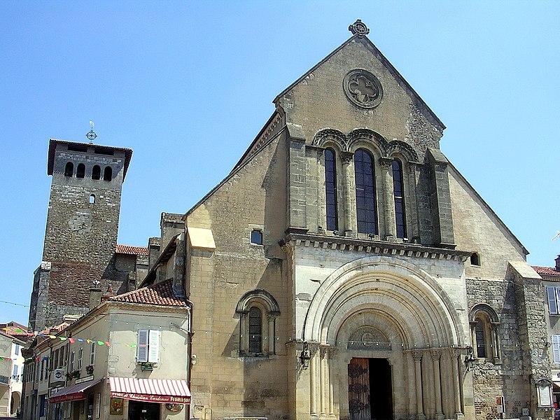 Photo du Monument Historique Eglise abbatiale situé à Saint-Sever