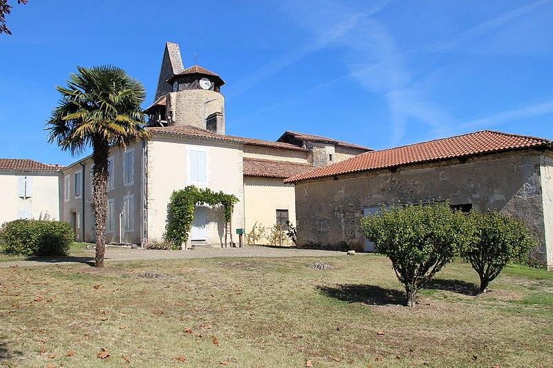 Photo du Monument Historique Eglise Saint-Martin situé à Arx