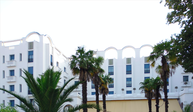 Photo du Monument Historique Hôtel Splendid, actuellement Grand Hôtel Mercure Splendid situé à Dax