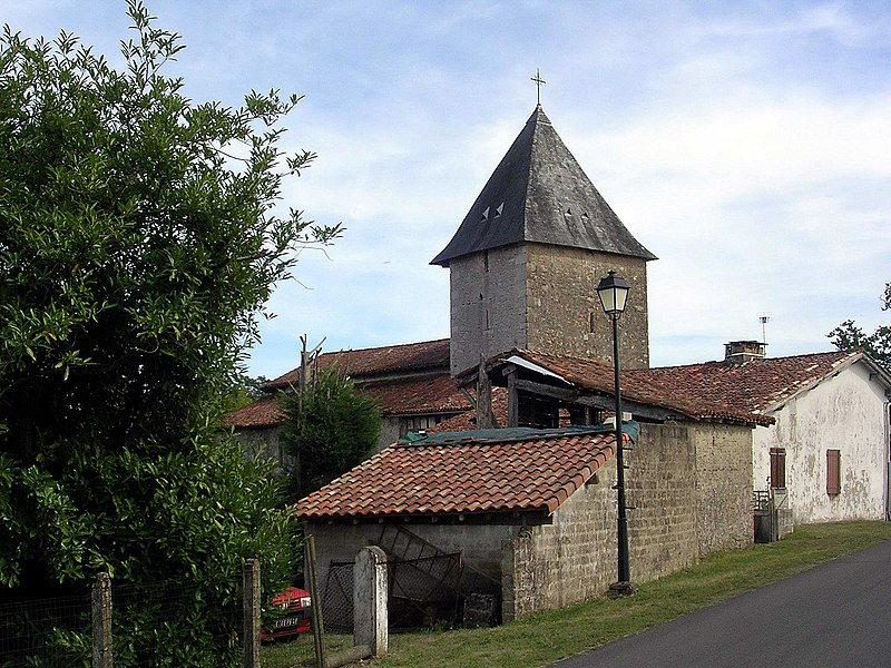 Photo du Monument Historique Eglise Notre-Dame de Goudosse situé à Souprosse