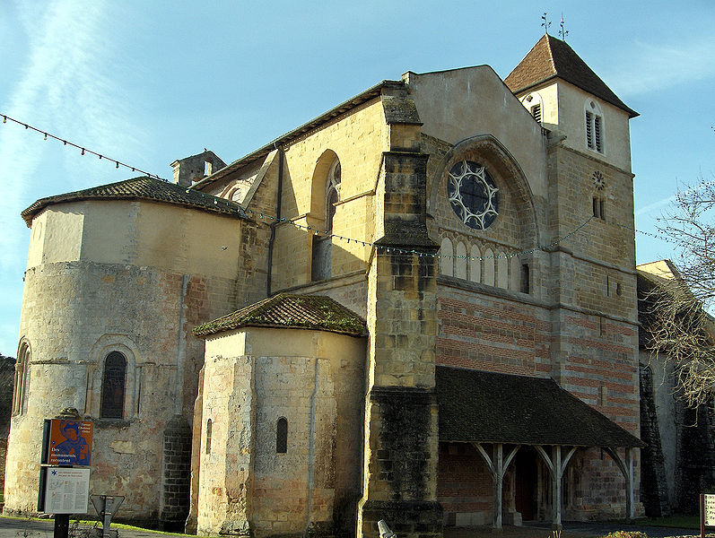 Photo du Monument Historique Ancienne abbaye Saint-Jean situé à Sorde-l'Abbaye