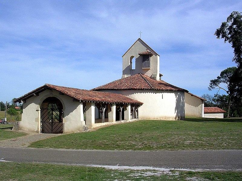 Photo du Monument Historique Eglise Saint-Jean-Baptiste de Suzan situé à Ousse-Suzan