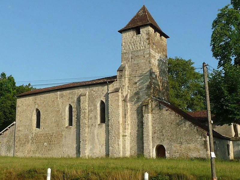 Photo du Monument Historique Eglise Saint-Martin de Noët situé à Saint-Justin