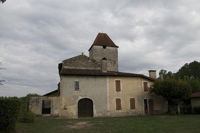 Photo du Monument Historique Eglise Saint-Sernin de Douzevielle situé à Saint-Justin