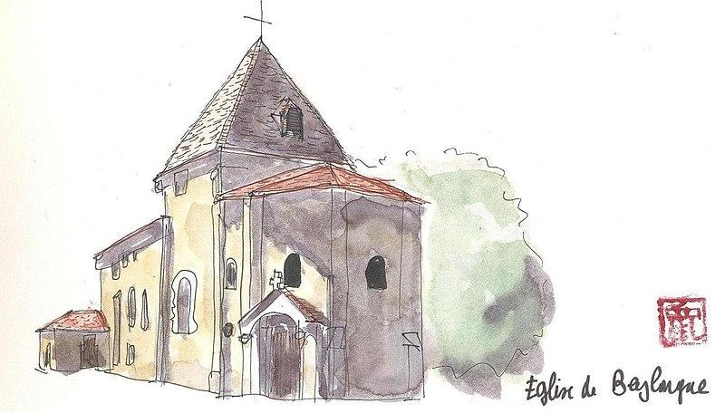 Photo du Monument Historique Eglise Saint-Pierre situé à Beylongue
