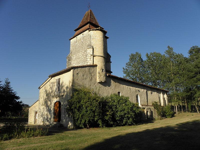 Photo du Monument Historique Eglise Saint-Pierre situé à Lagrange