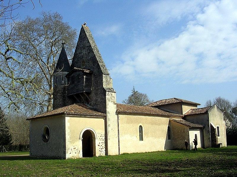Photo du Monument Historique Eglise Saint-Pierre-ès-Liens de Biganon situé à Moustey