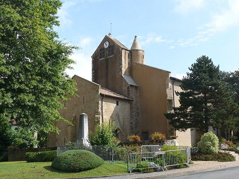 Photo du Monument Historique Eglise Sainte-Marie situé à Sainte-Marie-de-Gosse